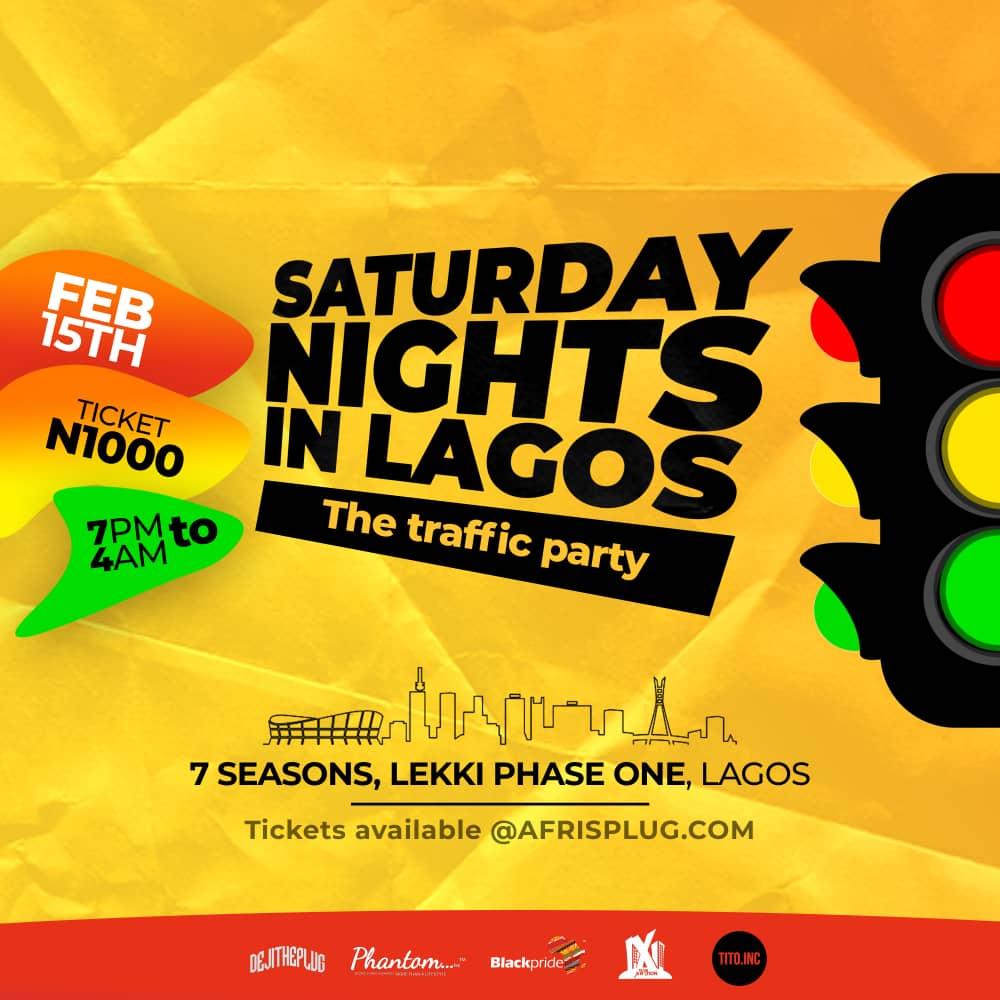 SATURDAY NIGHTS IN LAGOS