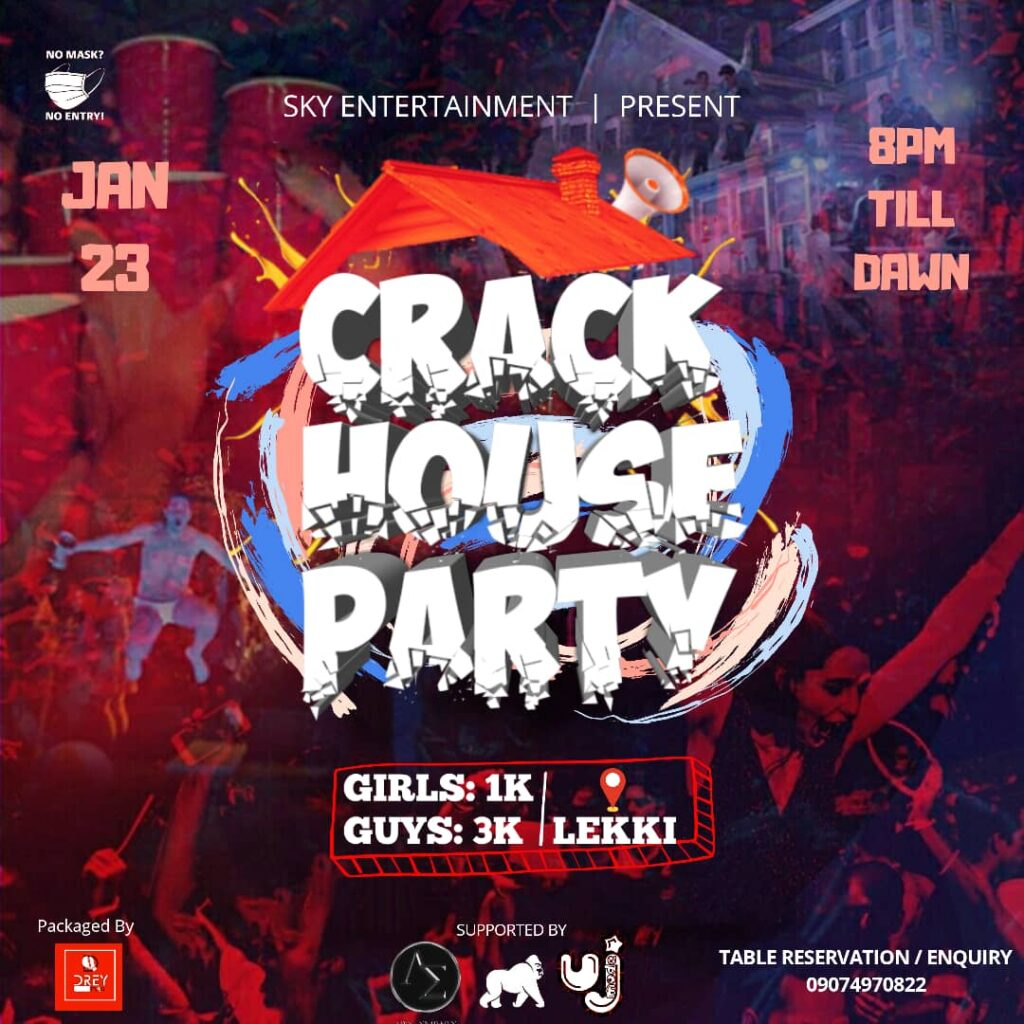 CRACK HOUSE PARTY
