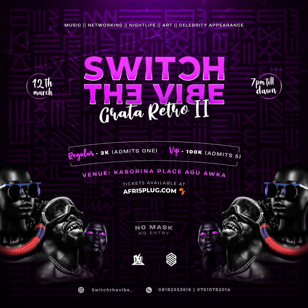 SWITCH THE VIBE(Grata Retro 2)